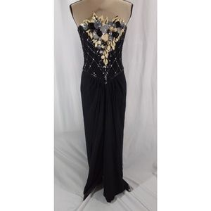 Vintage Bob Mackie Sequin Formal Prom Gown Dress